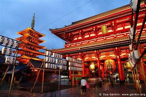 colorful firework sensoji temple asakusa senso ji temple at dusk asakusa tokyo japan sensoji