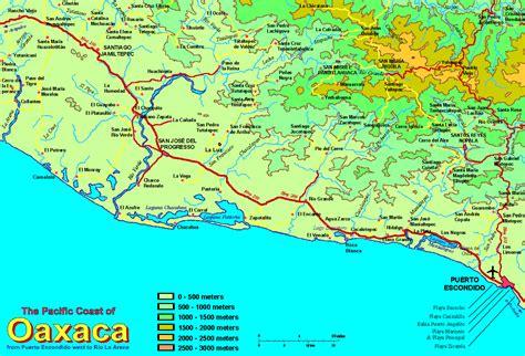 oaxaca mexico map mapa de oaxaca map of mexico directory newhairstylesformen2014
