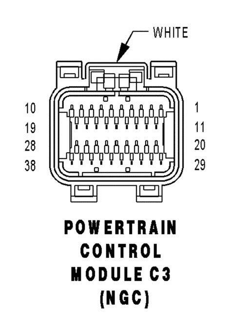 Anyone have PCM wiring pin out diagram 04 RAM? | Moparts