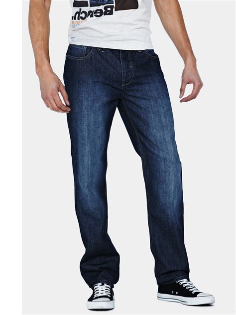 mens bench jeans bench bench jamie mens jeans in blue for men denim lyst