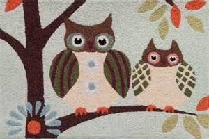 Owl Kitchen Rugs Jellybean Patchwork Owls Rug Ebay