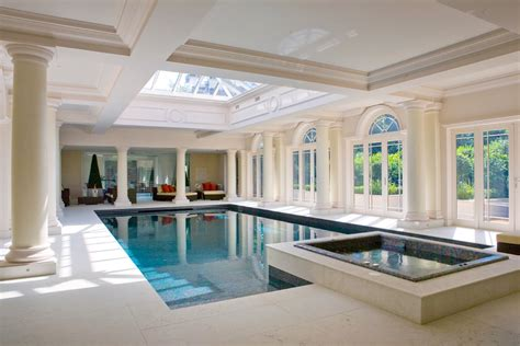 indoor pool house indoor swimming pool design construction falcon