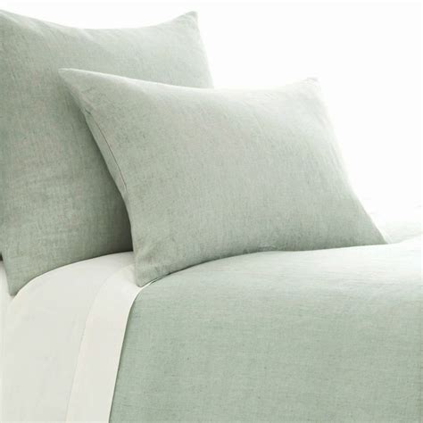chambray bed linen chambray linen duvet cover by pine cone hill