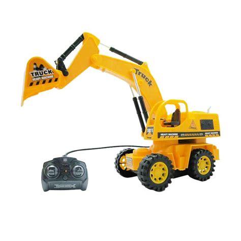 Exavator Mainan Aman Untuk Anak Iiw jual china brand truck car excavator mobil truk alat berat mainan remote rc