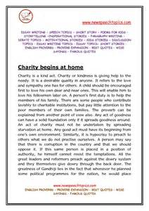 Essay About Charity by Help Others In Need Essay 187 Student Help
