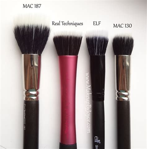 Stipple Brush makeupbyjoyce review comparison studio brush