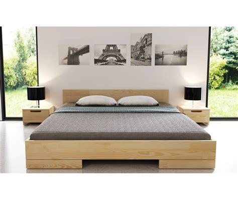 letto legno letto in legno spectrum in pino vivere zen