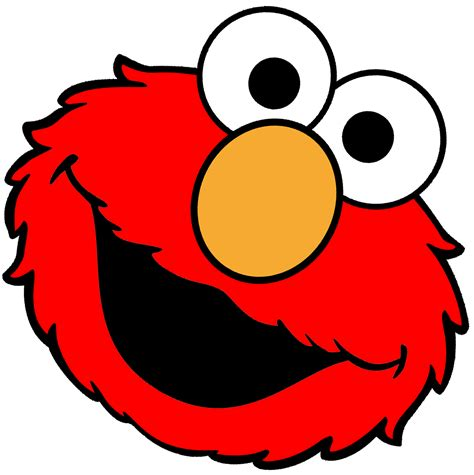 elmo template elmo clipart best