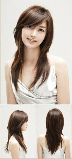 hairstyle for square face asian girl 20 fabulous long layered haircuts with bangs haircuts