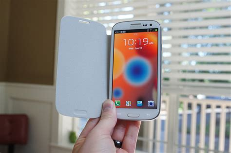 Flipcover S look samsung galaxy s3 flip cover droid