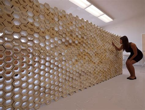 Wall Installation Hex Wall Installation 2012 Lunt Archinect