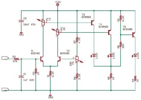 led battery indicator circuit led voltage level indicator circuit diagram world