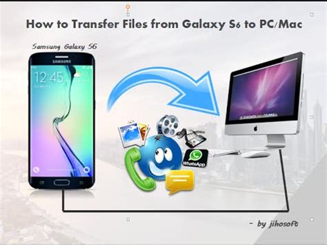 how to transfer from android to pc how to transfer files from android samsung galaxy s6 s6 edge to pc mac