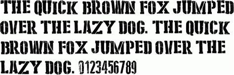 tattoo font kleymissky stencil cargo army free font download