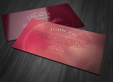 church business card templates free san diego entertainment calendar church business card psd