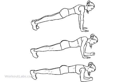 One Arm Bench Press Plank Variations