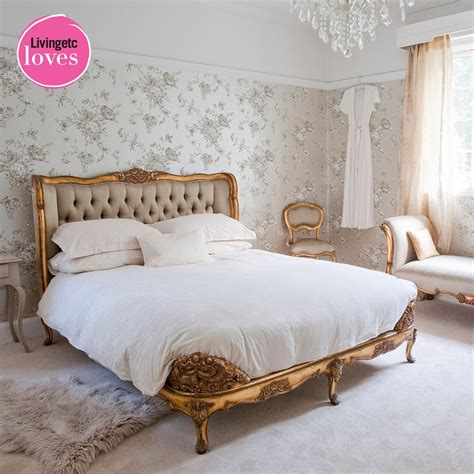 bedroom bed versailles gold upholstered bed bedroom company