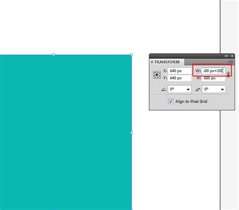 qt tutorial calculator quick tip how to use the illustrator transform panel as a