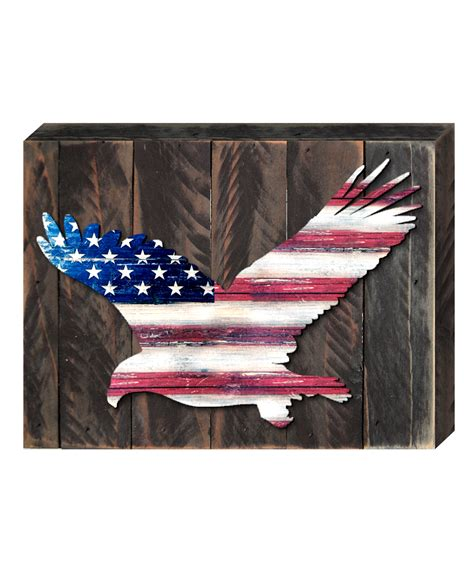eagle vintage american flag home decor let freedom ring