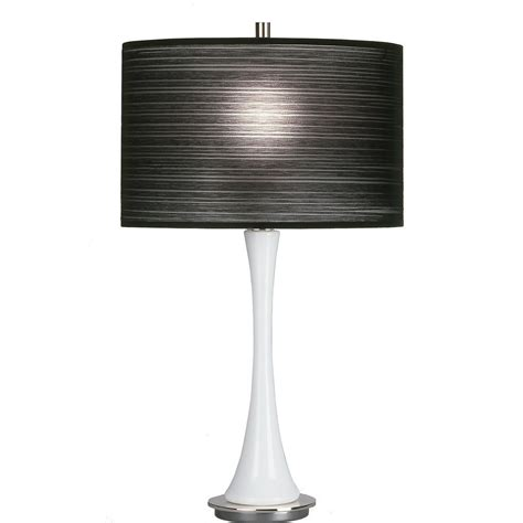 and white striped l shade comfy shop black and white striped table l