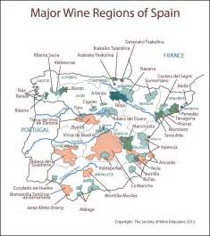 Spain Wine Map by Swe Wine Map 2015 Spain Wine Wit And Wisdom