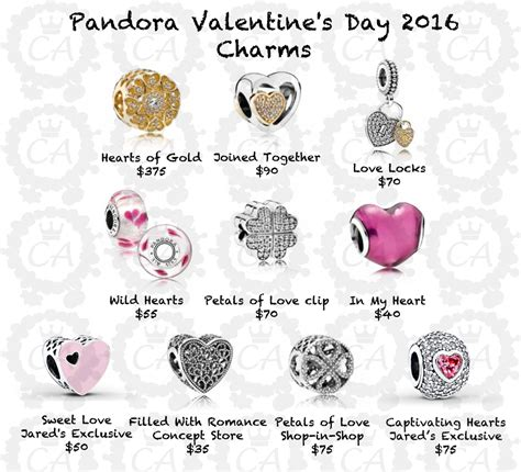 valentines day pandora charms pandora s day 2016 launch and worldwide
