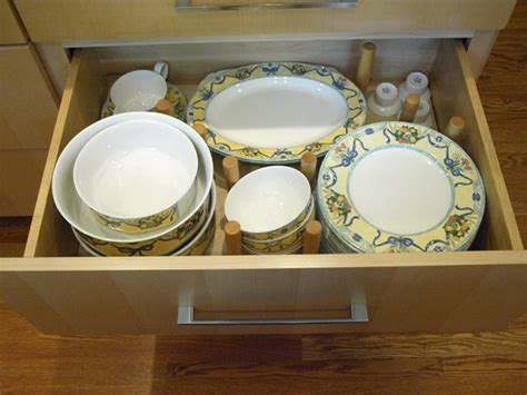 Plate Drawer Dividers by Plate Drawer Peg Dividers Modern Kitchen Newark