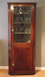 Corner Display Cabinet Antique Georgian Corner Display Cabinet Antique Corner Cupboard