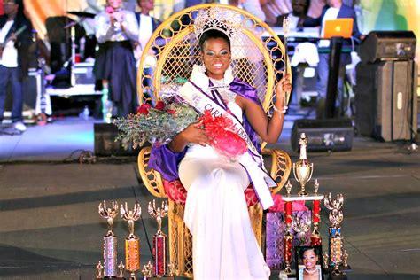 kamarsha potter crowned carnival queen