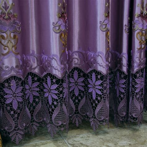 purple flower curtains purple curtains for bedroom home design