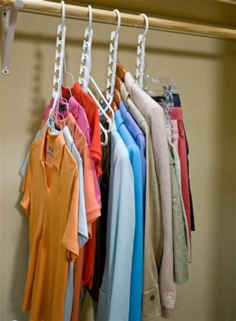 How To Save Closet Space by Hanger Pack Of 8 Closet Organizer Space Saver Clothes