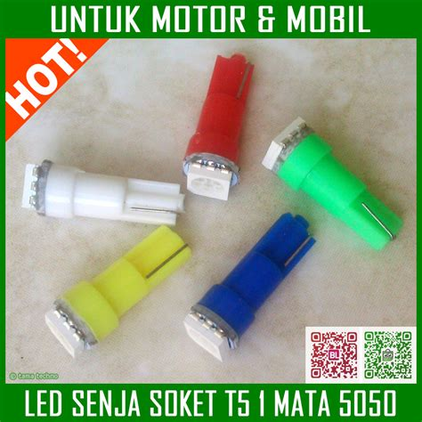 Led T5 Speedometer Mobil by Jual Lu Led T5 Smd 5050 Senja Sein Interior Dashboard