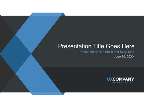 powerpoint presentation template ux powerpoint presentation cover template norebbo