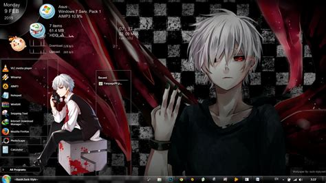 themes for windows 7 tokyo ghoul theme 7 tokyo ghoul v1 1