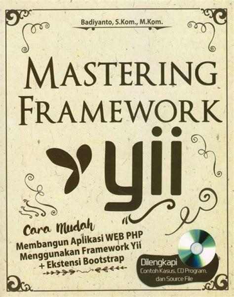 bukukita mastering framework yii toko buku