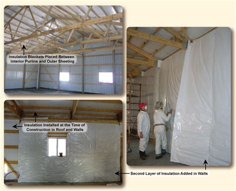 pole barn insulation kits for insulating during construction