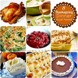 thanksgiving dinner menu traditional hip2thrift