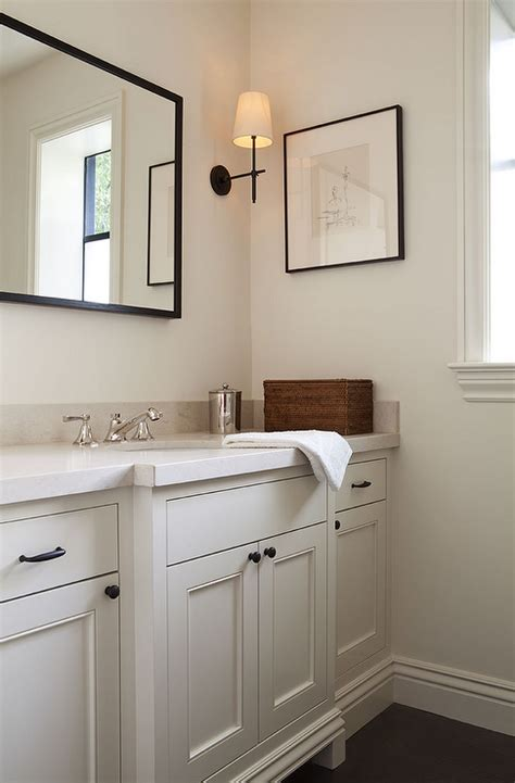 cream bathroom vanity design ideas