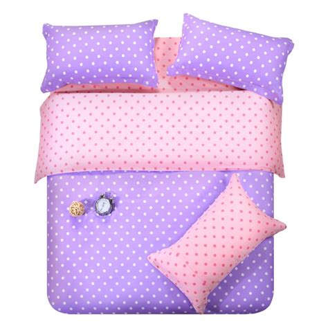 Purple Polka Dot Crib Bedding Popular Purple Polka Dot Bedding Buy Cheap Purple Polka Dot Bedding Lots From China Purple Polka