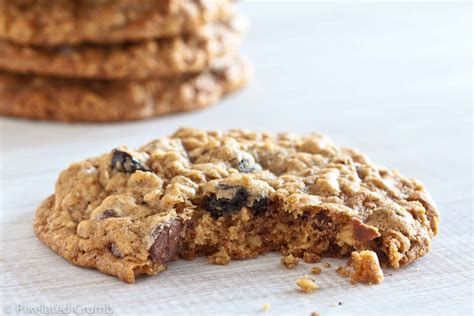 Oatmeal Giveaway - chocolate chip oatmeal and pecan cookies recipe dishmaps