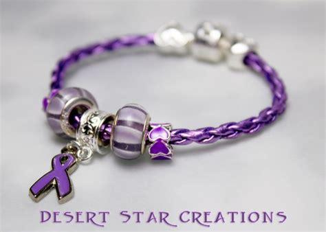 items similar to small purple pandora lupus awareness
