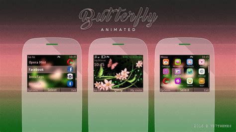 animated themes for nokia asha 210 animated flower themes c3 00 asha 302 wb7themes
