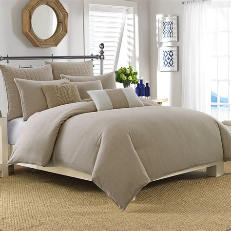 nautica longitude khaki comforter and duvet set from