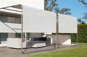 sonnensegel terrasse aufrollbar design sonnensegel aufrollbar sicht sonnenschutz f 252 r
