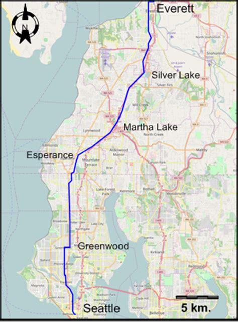 seattle map everett seattle 1931