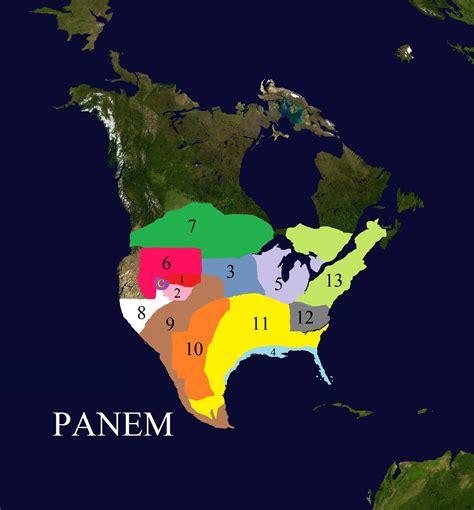 map of panem hunger image map of panem 2 jpg the hunger wiki