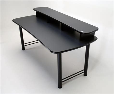 dual surface multiple monitor computer desk