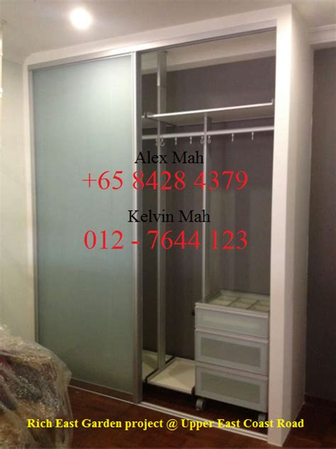 Bedroom Wardrobe Ideas Singapore Malaysia And Singapore Renovation Aluminium Wardrobe And