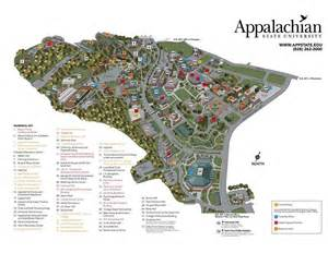 Appalachian State Campus Map by Appolcorpswelcome Campus Map