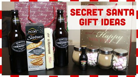 secret ideas secret santa gift ideas with charlimarietv